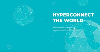 Icon cryptocurrency hyperconnect the world