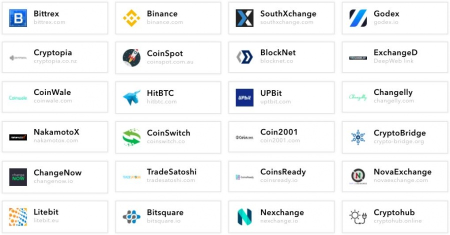 cryptocurrency exchange verge